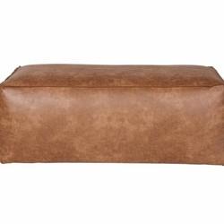 Rodeo Poef Cognac - 120x60xH43 cm