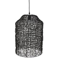 Hanglamp Quick Zwart - Ø35xH51 cm