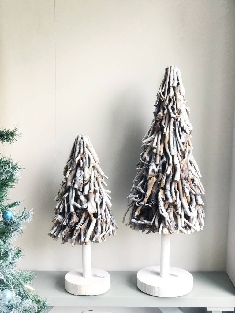 Kerstboom Sidell Wit O30xh70 Cm Gewoonknus Nl