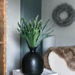Kunstplant Hertshoorn - 52 cm
