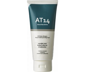 AT14® Shower Cream 200ml. Really hypoallergenic!