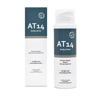 AT14® Skincare AT14® Bodycrème - 150ml. Echt hypoallergeen!