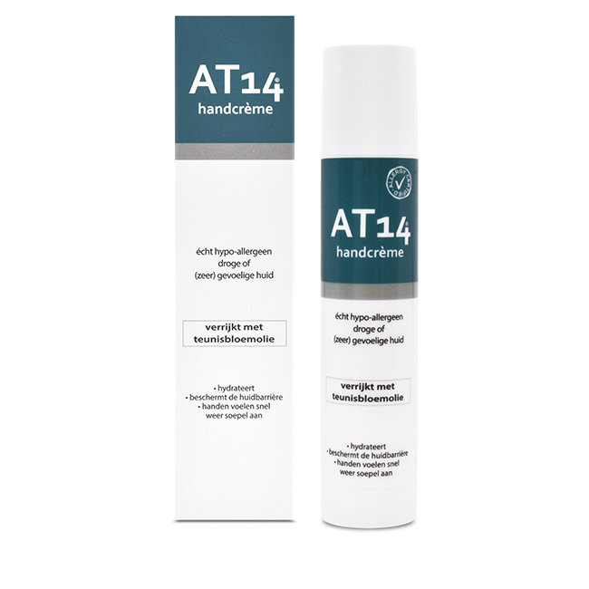 AT14® hypoallergenic Hand Cream - 50ml.