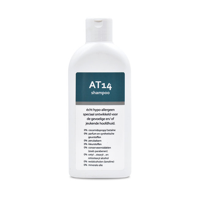 AT14® Skincare AT14® Shampoo - 200 ml. Echt hypoallergeen!
