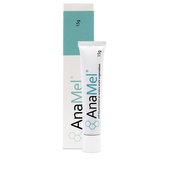 AnaMel® ointment for anal discomfort