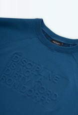 Ron Dorff DISCIPLINE Embossed Short-Sleeved Sweatshirt