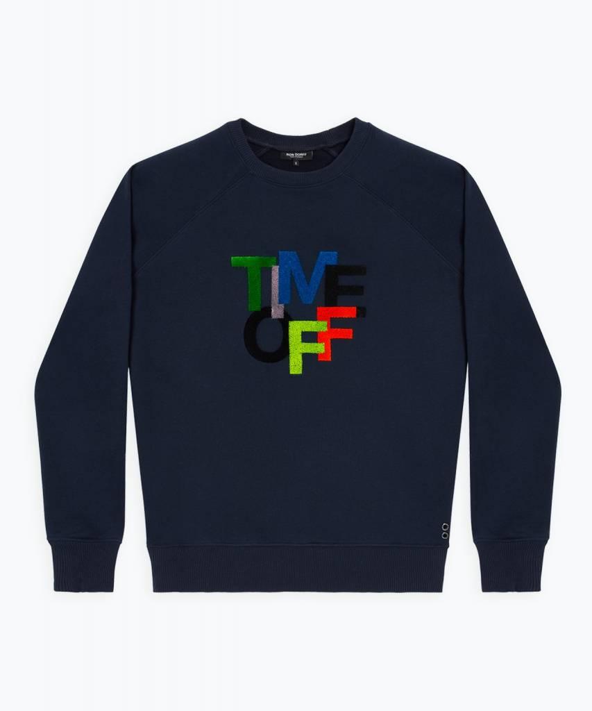 Ron Dorff TIME OFF Sweatshirt Navy