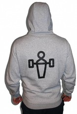 WOODS WOODY Zipped Hoody Grey