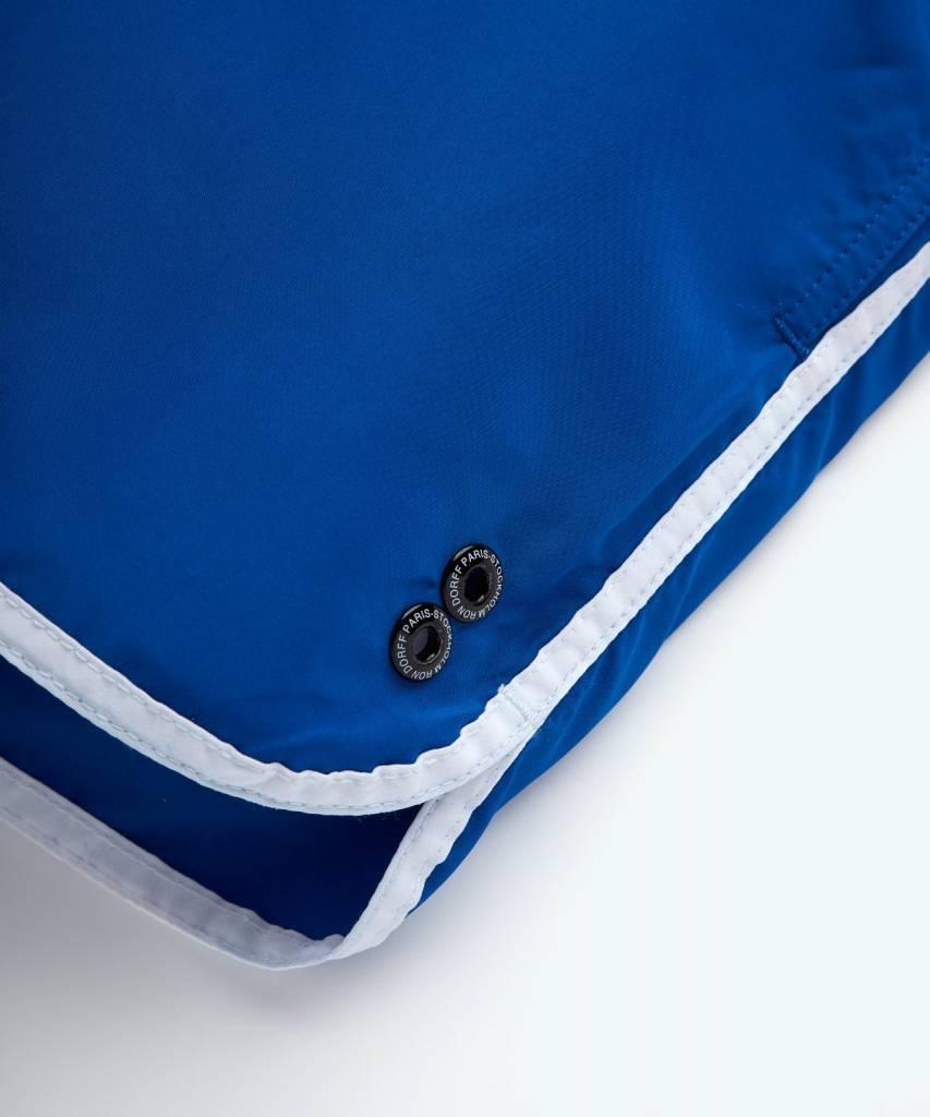 Ron Dorff EYELET EDITION Marathon Swim Shorts Klein Blue/White