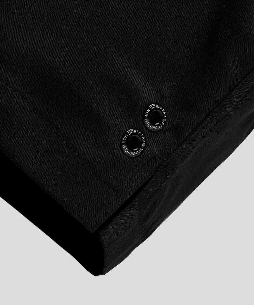 Ron Dorff EYELET EDITION exerciser shorts Black