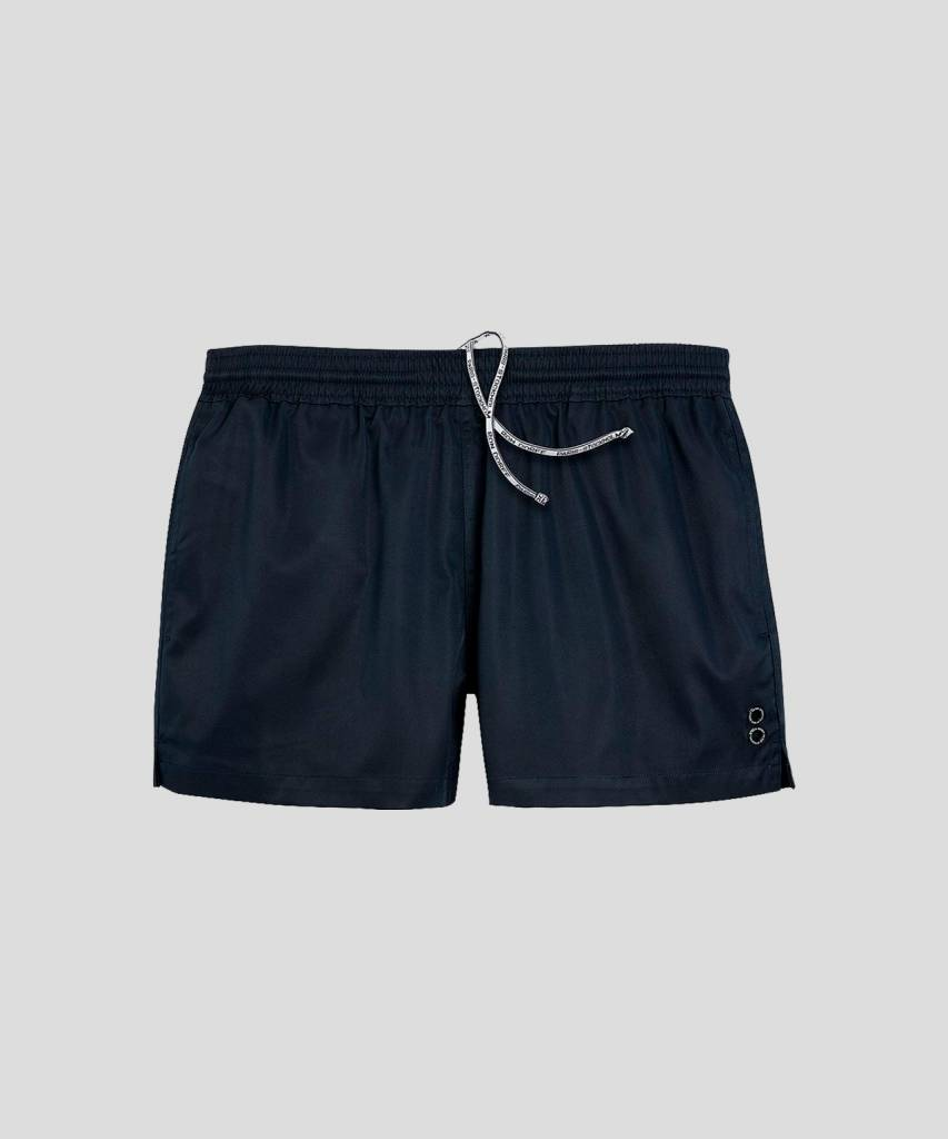 Ron Dorff EYELET EDITION exerciser shorts Navy