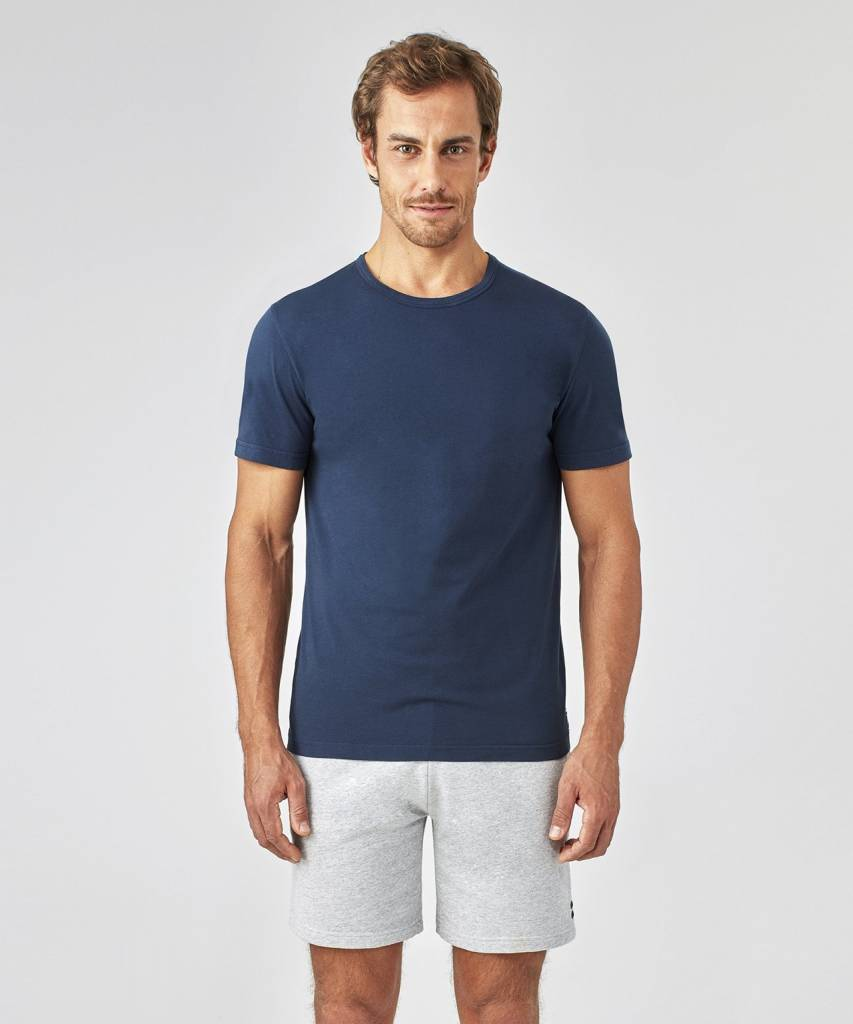 Ron Dorff EYELET EDITION jogging shorts Grey Melange