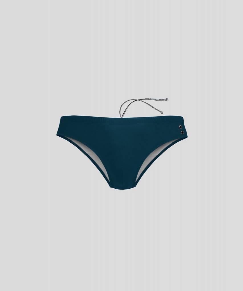 Ron Dorff EYELET EDITION Swim Trunks Green Light