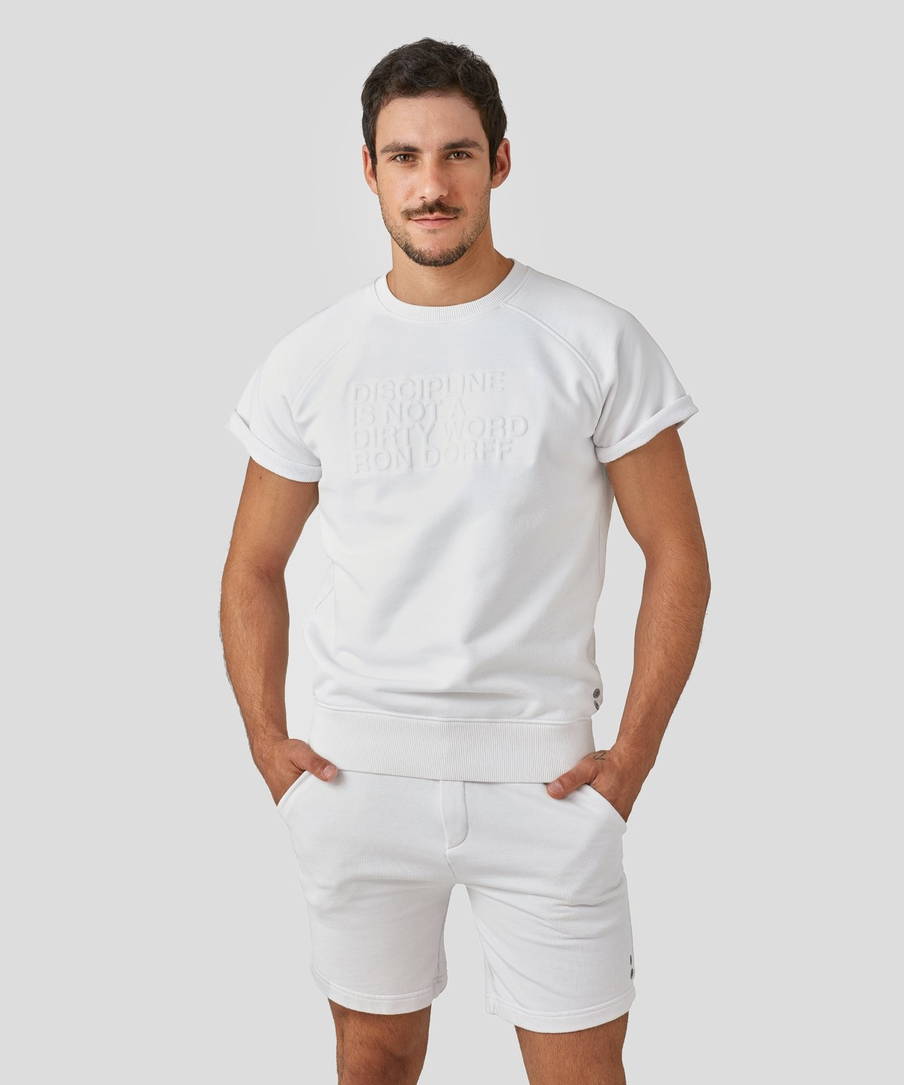 Ron Dorff DISCIPLINE shrt slv sweatshirt