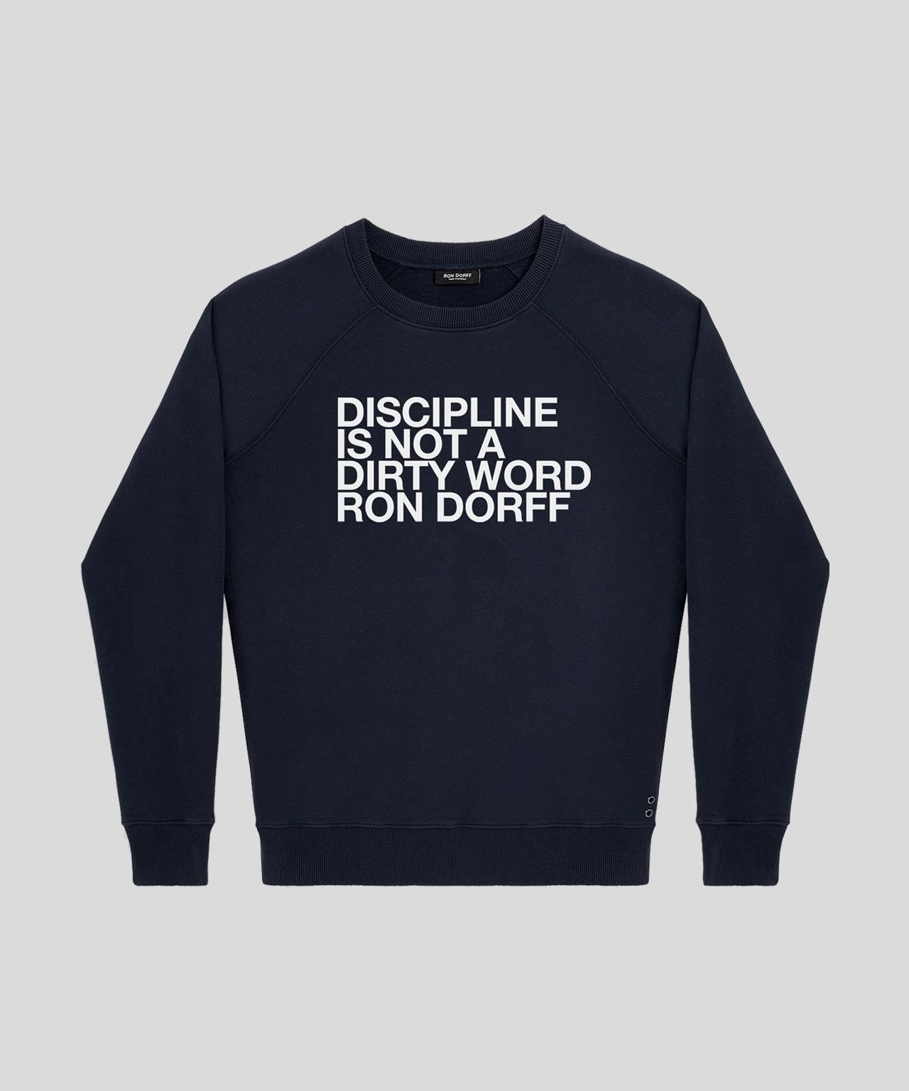 Ron Dorff DISCIPLINE sweatshirt (brushed)