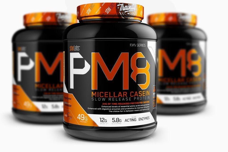 StarLabs Nutrition PM8 100% CASEIN