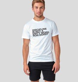Ron Dorff DISCIPLINE tshirt White