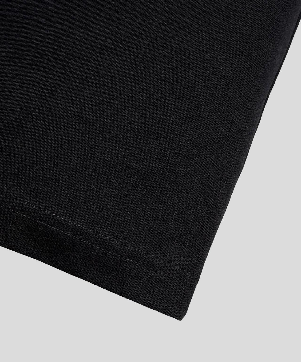 Ron Dorff DAD smll prnt tshirt Black