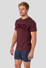 Ron Dorff DAD tshirt Burgundy Red