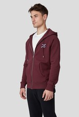 Ron Dorff 1976 embroided zppd hoody Burgundy Red