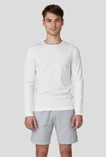 Ron Dorff EYELET EDITION long slv tshirt White