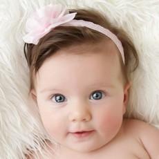 Cintas para bebé con flores
