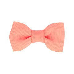 Your Little Miss Baby hair clip peach