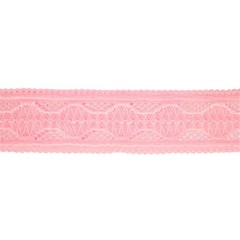 Your Little Miss Baby Haarband in rosa Spitze