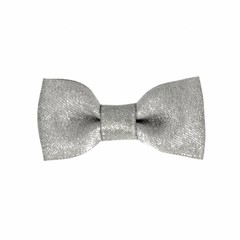 Your Little Miss Baby hair clip grey sparkle