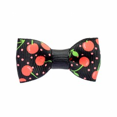 Your Little Miss Baby Hair clip cherry black