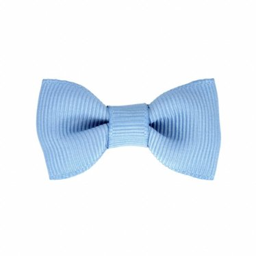 Your Little Miss Baby hair clips french blue