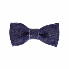 Your Little Miss Baby hair clip navy sparkle