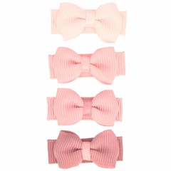 Your Little Miss Set of old pink baby hair clips