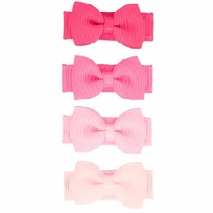 Your Little Miss Set of pink baby hair clips
