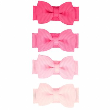 Your Little Miss Set rosa Baby Haarspangen