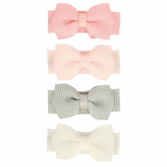 Your Little Miss Set of pastel baby hair clips