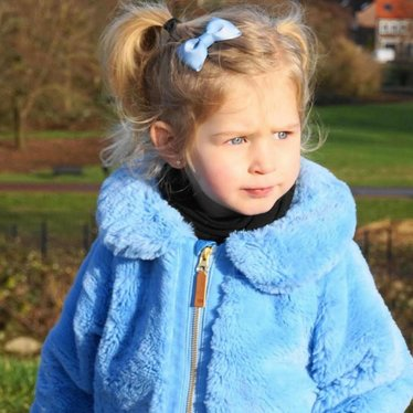 Your Little Miss Haarspange in hellblau