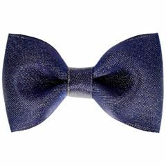 Your Little Miss Hair clip navy sparkle