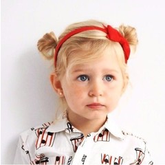 Your Little Miss Hairband red