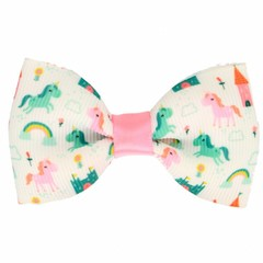 Your Little Miss Hair clip unicorn pink