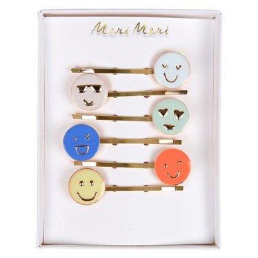 Meri Meri Hair pins smiley