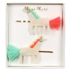 Meri Meri Hair pins unicorn