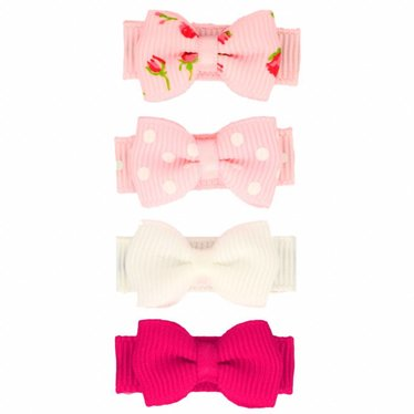 Your Little Miss Set pastellfarbener Baby Haarspangen Pink & Süß