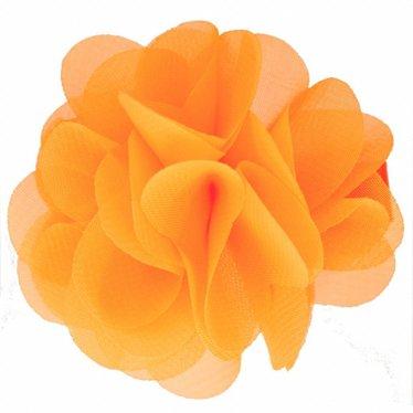 Your Little Miss König Haarspange orange Blume
