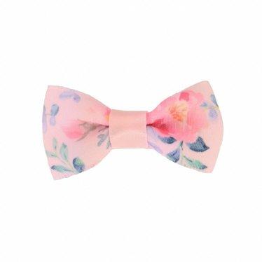 Your Little Miss Baby Haarspange pink mit Blumen