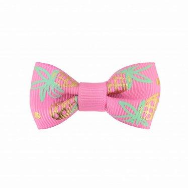 Your Little Miss Baby Haarspange pink mit Ananas