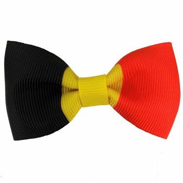 Your Little Miss Haarspeld met strik Belgische vlag