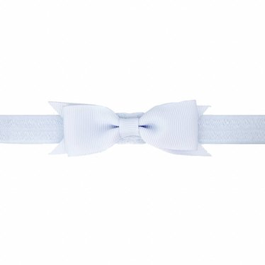 Your Little Miss Lilac baby headband with bow