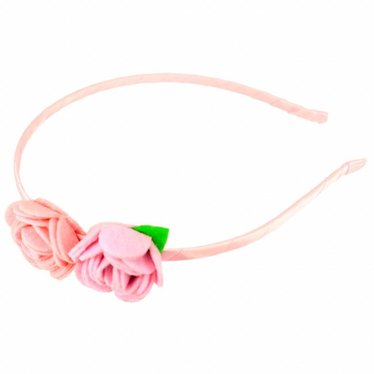 Your Little Miss Hairband with felt flowers