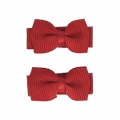 Your Little Miss Baby hair clips with bow rest